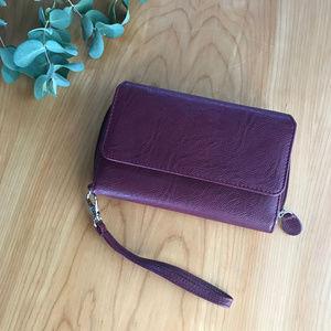 Mundi — My Big Fat RFID Wallet + Wristlet Wine GUC